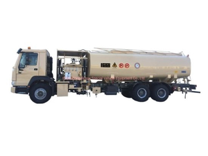 Sinotruck HOWO 25000L Aircraft Tanker (Aviation Kerosene, Aviation Gasoline, Jet Oil 6600 US Gallon Refueler Aircraft Tanker)