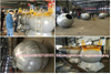 Stainless Steel Spherical T22 Portable Tank 1.6cbm 316L (T22 ISOTANK Portable Pressure Vessel)