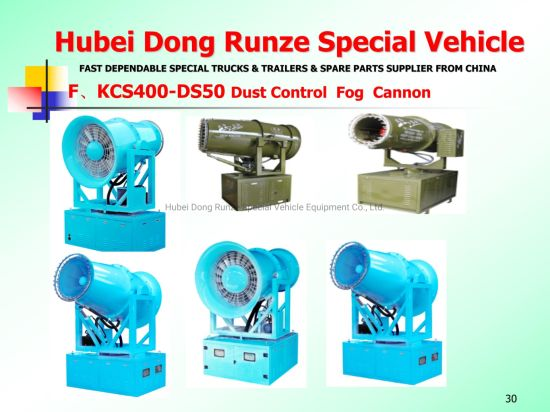 Fog Cannon with Fog Generator Dust Supression System Unit (Sprayer Water Mist 50m-200m Citywide Disinfection Cannon, Sterilization Spray Machine)