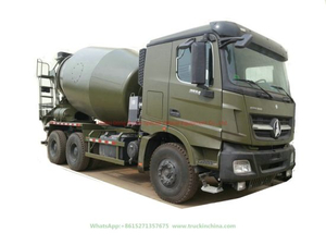 2534 / 2634 V3 Beiben Concrete Mixer Truck (with 8m3-12m3 Mixer Drum Right Hand Drive or left hand drive)