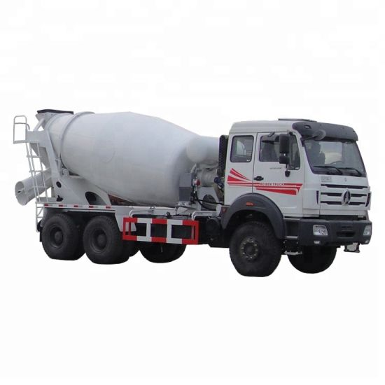 2534 / 2634 Ng80 Beiben Concrete Mixer Truck (with 8m3-12m3 Mixer Drum Right Hand Drive or left hand drive)