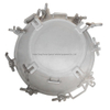 SS304, SS316L Stainless Steel Manhole Cover for Sulfuric Acid Tank, Dust Tank, Chemical Tanker Truck