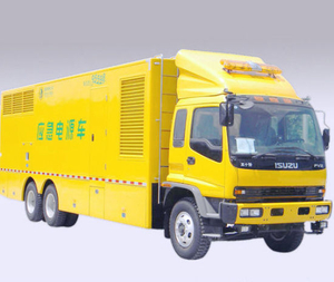 Isuzu Fvz 500kw 600kw 700kw Emergency Power Supply Vehicle
