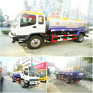 Ftr Isuzu Water Trucks Specialize Customizing 8000L~16000L