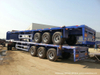 40FT Flatbed Container Semi Trailer (Flatbed Container Trailer With Front Board)
