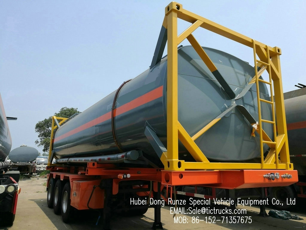 Hydrochloric acid, Sodium hypochlorite Tank Containers 30ft