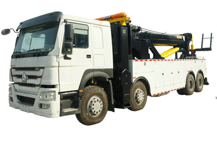 Howo Recovery Wrecker Tow Truck 50T for Sale