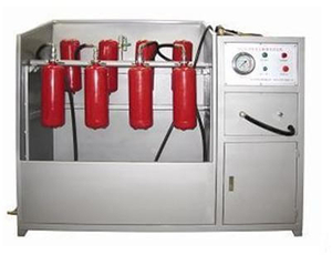 Fire Extinguisher Drying Machine, Fire Extinguisher Check Device ,Fire Extinguisher Airtight Test Box Hydrotest Rig