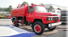 Dongfeng Water Tanker All Wheel Drive 4x4 with Fire Pump Water Tank 5000 L - 6000L Euro 5