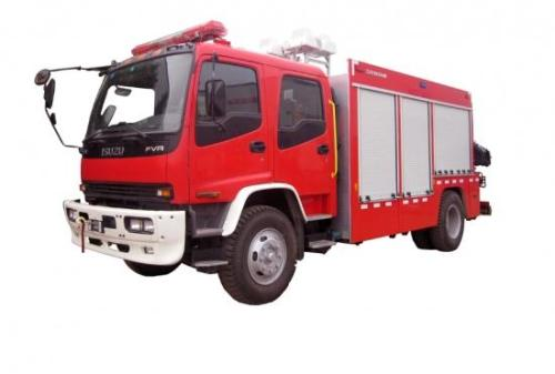 ISUZU Multi-function Rescue Fire Truck Euro 5