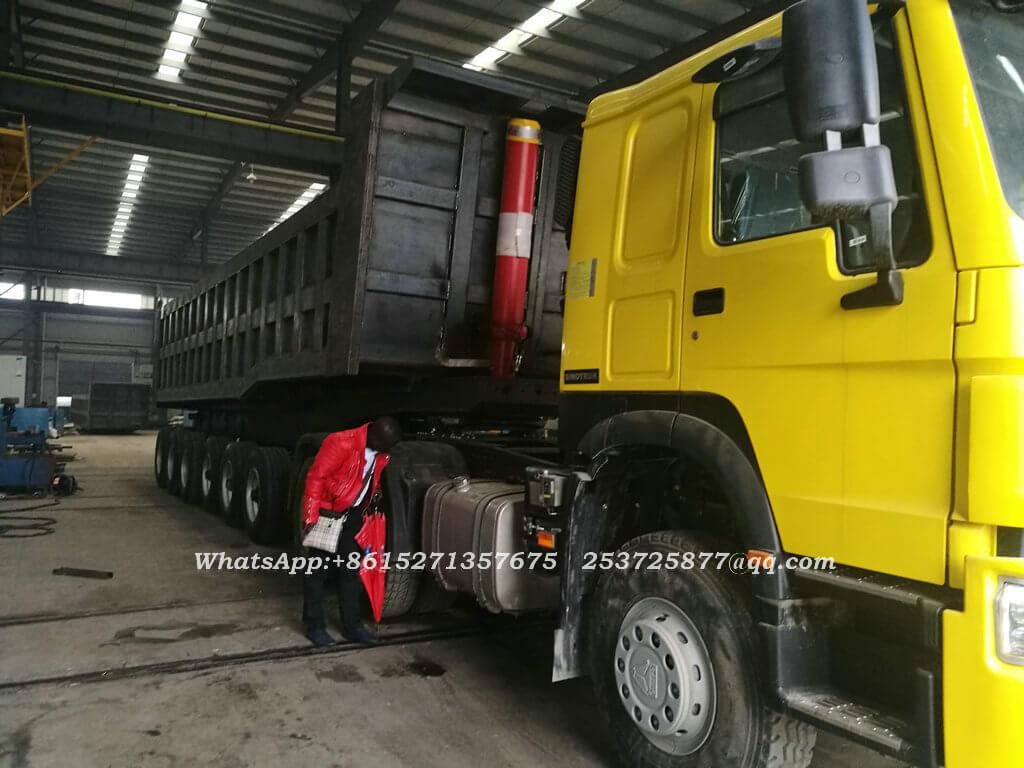 Bauxite tipper trailer-33