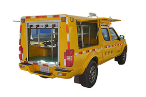 DFAC Emergency Accident Rescue Vehicles with Power Generator And Lighting