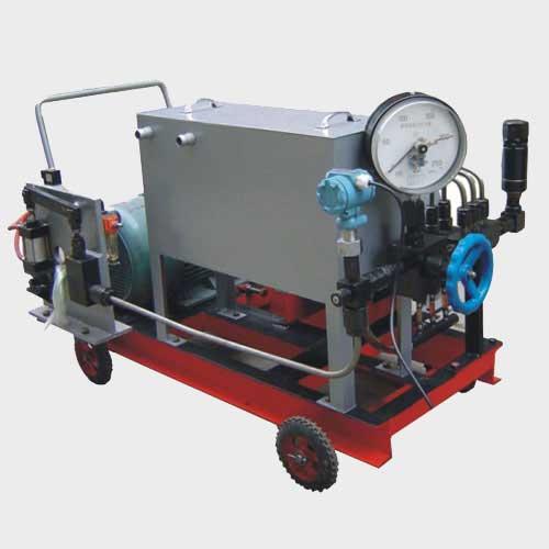 Diesel Engine Pressure Test Pump , Electric Pressure Test Pump, Pressure Test Unit